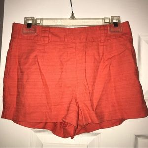 🔥Rust Orange High Waisted Shorts